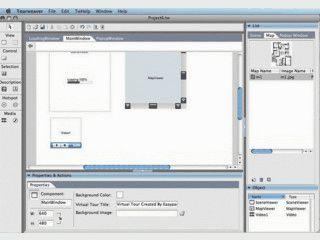 Software zur Erstellung virtueller Flash-Panoramatouren