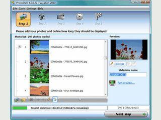 Software zum Erstellen von Foto-Diashows auf DVD