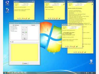 Nachrichten auf den Desktop von Empfängern im Netzwerk senden.