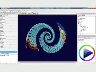Software zum Berechnen und Rendern von Fraktalen und 3D-Formen.