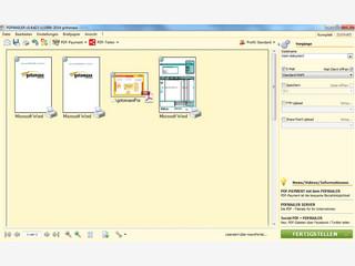 PDFs erstellen und versenden in einem Schritt.