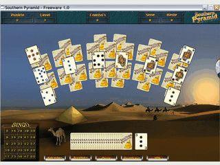 Vereint die Spiele Solitaire und Bingo. Mit Online-Highscoreliste für die Besten