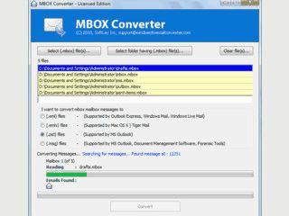 Export von Emails aus vielen verschiedenen Formaten in Standardformate