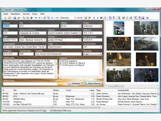 Flexibel einsetzbare Datenbanksoftware, z.B. für CDs, Videos, Adressen usw.