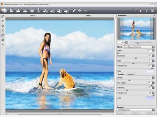 AKVIS NatureArt: Naturphänomene für digitalen Fotos.