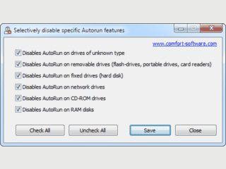 Tool mit dem Sie die Autorun-Funktion für versch. Datenträger deaktivieren könne