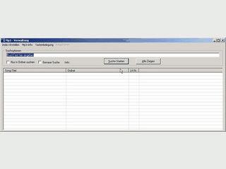 Indexierung aller MP3 Dateien auf Ihrem Computer zur späteren Suche.