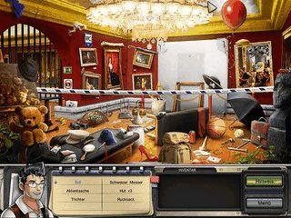 Wimmelbildspiel mit 25 Szenarien und weiteren Minispielen.