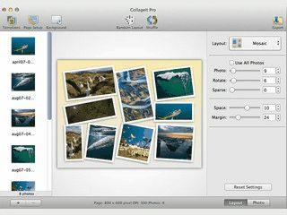 Einfache Software mit der Sie Photocollagen erstellen können.