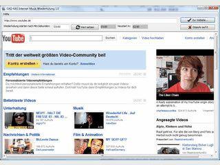 Wiederholt Videos, z.B. Ihr Lieblingslied auf Videoplattformen halbautomatisch.