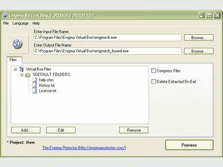 Erstellt ein virtuelles Dateisystem in dem Sie Ihre Anwendungen ausführen lassen