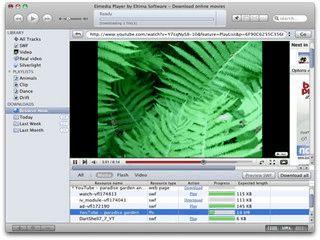 Mediaplayer für alle gängigen Formate mit Downloadfunktion für Videos.