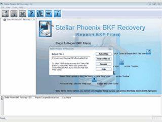Repariert defekte Windows Backup-Dateien im Format BKF.