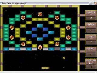 Breakoutclone mit 9 weiteren Minispielen die auch direkt gestartet werden können