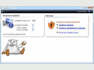 Prüft installierte Software auf verfügbare Updates
