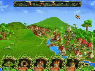 Typisches Match 3 Spiel mit 200 Leveln und verknüpfender Hintergrundgeschichte