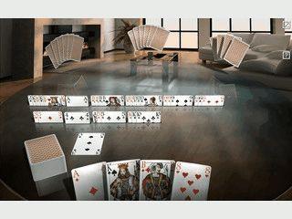 3D Canasta-Spiel für Solospieler, über das Netzwerk oder über das Internet.