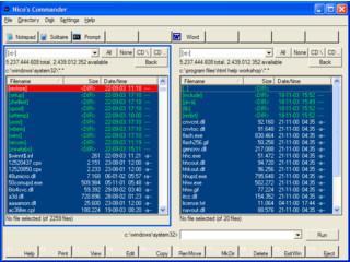 Windows Explorer-Ersatz im Norton Commander Stil, ZIP/FTP-Funktionen
