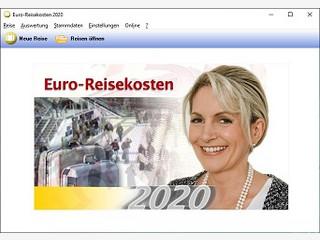 Reisekostenabrechnung nach den Vorschriften der deutschen Finanzämter.