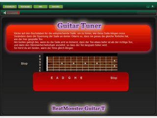 Eine einfache Software die Ihnen beim Stimmem einer Gitarre helfen soll.