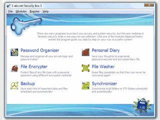 Einfache Toolsammlung zur Sicherung und Geheimhaltung Ihrer persönlichen Daten.