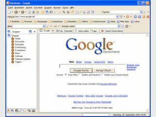 Leistungsfähiger Internetbrowser mit vielen komfortablen Zusatzfunktionen.