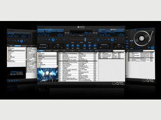 Multimedia-Player mit DJ-Deck, Karaoke-Funktion und Aufnahme-Funktion.