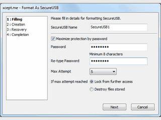 Passwort-Schutz für USB-Datenträger