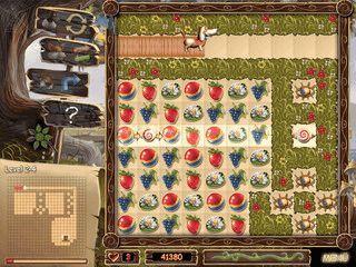 Match-3 Spiel in dem Sie Symbole auf dem Spielfeld gruppieren müssen.
