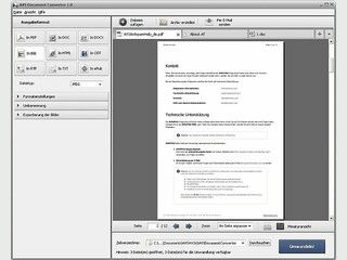 Dokumente zwischen DOC, PDF, DOCX, HTML usw. umwandeln.