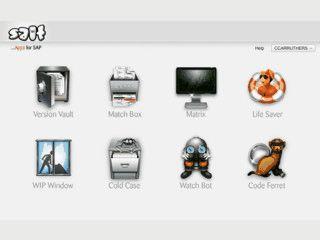 Sammlung von Apps für SAP Projekt-Entwickler.
