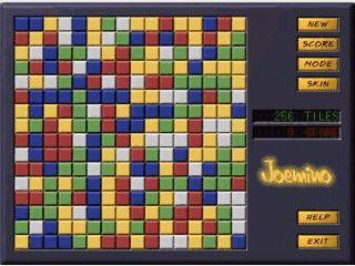 Alle Steine auf dem Spielfeld entfernen indem Sie auf farbige Gruppen klicken.