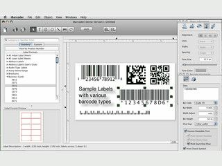 Software zum Erstellen, speichern und drucken von Barcodes