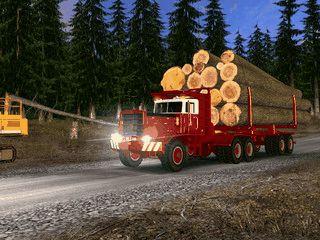 Sehr realistische Trucksimulation mit 35 verschiedenen Zugmaschinen