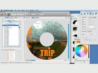 Umfangreiches Werkzeug zum Gestalten von CD/DVD Covern und Hüllen.