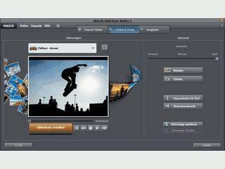 Software zum Erstellen von Slideshows aus Bildern und Videos.