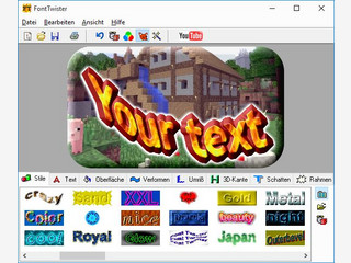3D Text Effekte für Buttons, Illustrationen und Web-Grafiken selber erstellen.