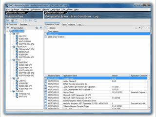 Remotebasierte Installation und De-Installation von Anwendungen im Netzwerk.