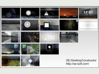 Erstellt und wechselt Desktop-Hintergrundbilder automatisch.