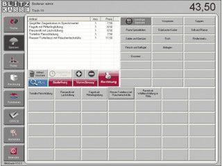 Gastrokassen-Software für Betriebe mit bis zu 80 Tischen.