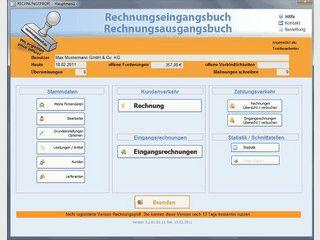 Software Eingangsrechnungen, Ausgangsrechnungen - Programm