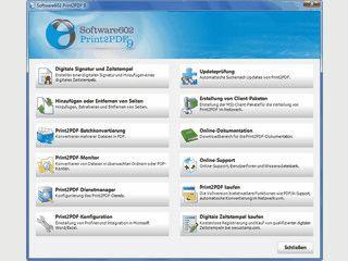 Server-Lösung um beliebige Dokumente in PDF-Dateien umzuwandeln.