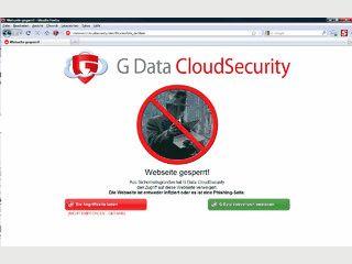 Die G Data CloudSecurity ist ein kostenloses Browser-Plug-in für den Mozilla Fir