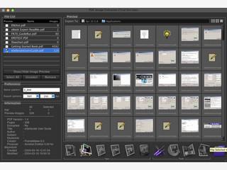 Extrahiert Bilder aus PDF-Dateien.