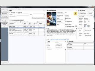 DVD-Verwaltung mit Verleihfunktion. Automatische Datenübernahme.