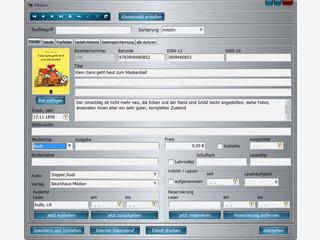Einfach zu bedienende Büchereiverwaltung für Schulen und Gemendebibliotheken
