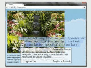 Kostenlose Übersetzung von Texten bis 500 Zeichen.