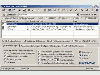 Flexibles Programm zur Datensicherung mit einigen interessanten Extras.