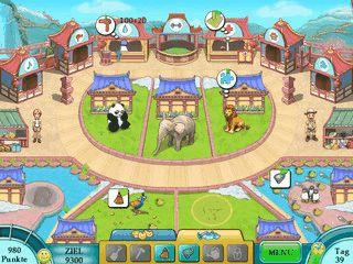 Im Spiel gegen die Zeit schlüpfen Sie in die Rolle einer Zoobesitzerin.