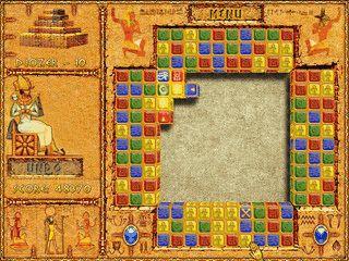 Match-3 Spiel mit 60 Level in dem Sie Steine von außen zur Mitte bewegen